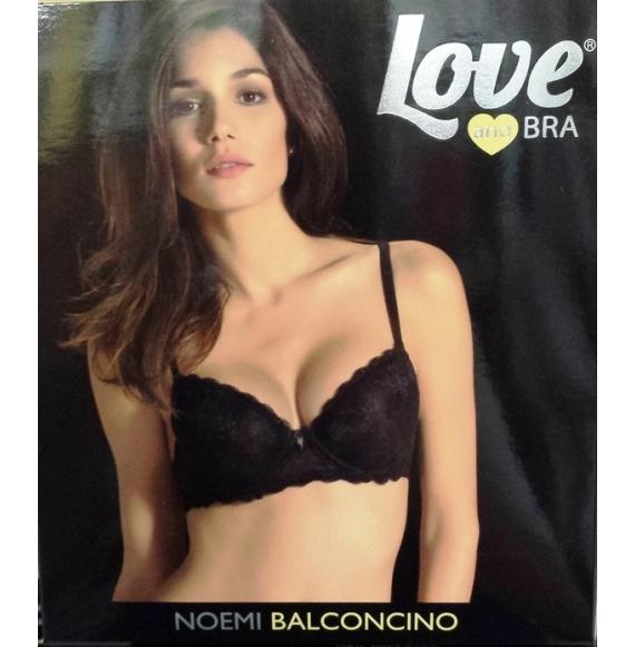 LOVE NOEMI REGGISENO BALCONCINO TG. 6° BIANCO
