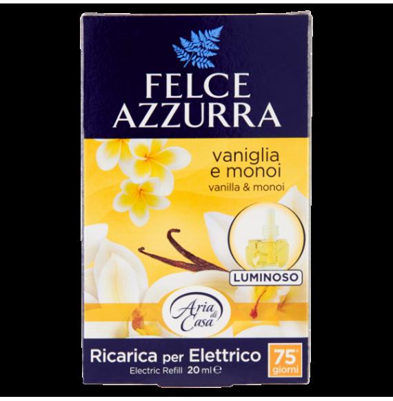 FELCE AZZURRA RICARICA PER ELETTRICO 20 ML VANIGLIA E MONOI