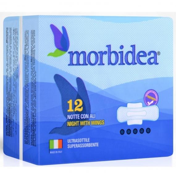 MORBIDEA ASSORBENTI NOTTE CON ALI X12