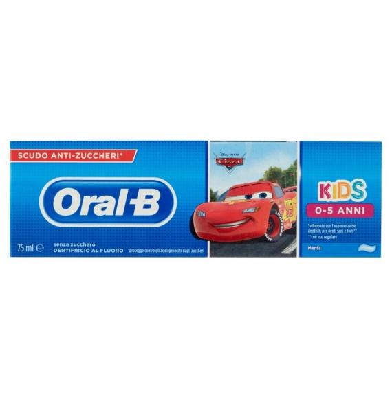 ORAL B KIDS 0-5 ANNI CARS 75 ML