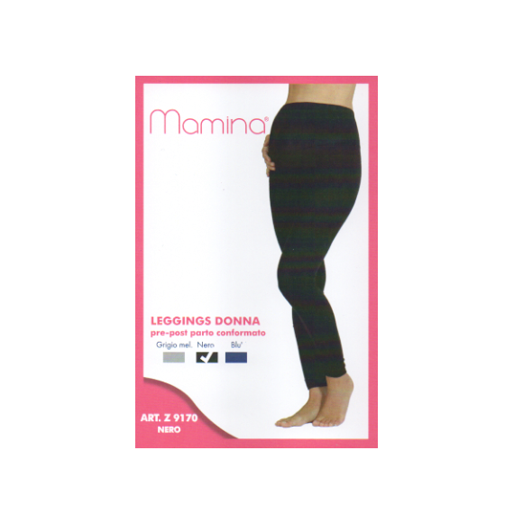 MAMMINA ART. 9170 LEGGINS PRE E POST PARTO TG. DA 3° A 6°