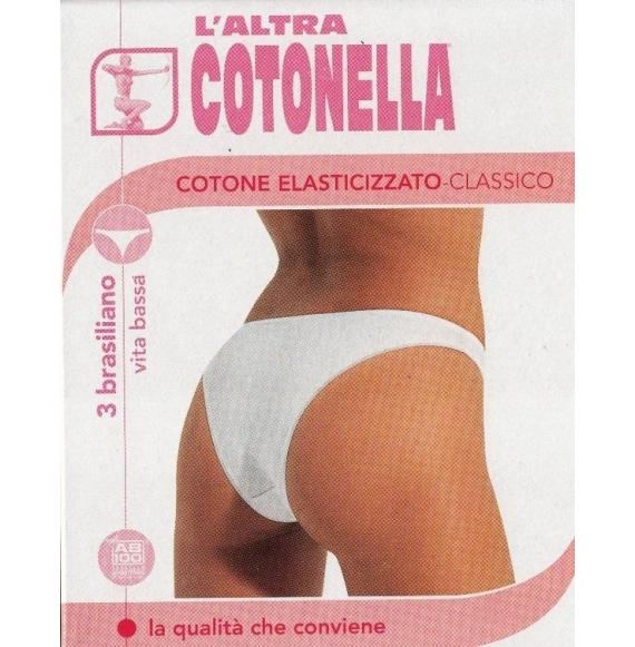 L'ALTRA COTONELLA ART. 3942 BRASILIANA TG. DA 3° A 5° - 3 PZ