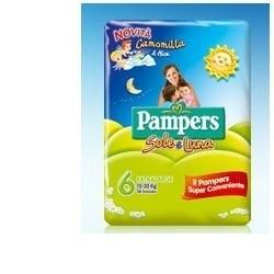 PAMPERS SOLE&LUNA TG15-30KG