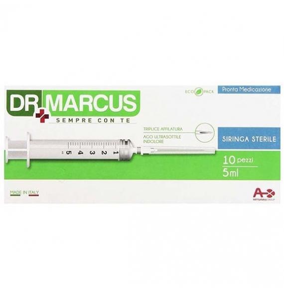 DR MARCUS SIRINGHE STERILI DA 5 ML