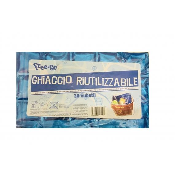 FREE-GO GHIACCIO RIUTILIZZABILE 30 CUBETTI