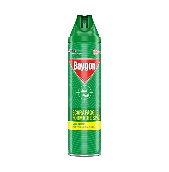 BAYGON SPRAY SCARAFAGGI E FORMICHE 400 ML
