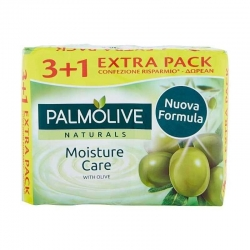 Palmolive Saponette Moisture Care con Olive 4pzx90g