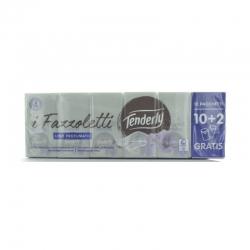 Tenderly Fazzoletti Lino Profumato 10+2
