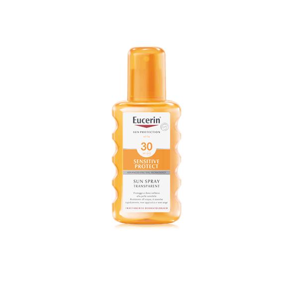 Eucerin Sensitive Protect Sun Spray Transparent SPF 30 200 ML