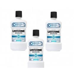 LISTERINE COLLUTORIO ADVANCED WHITE MENTA PURA 500ML X7