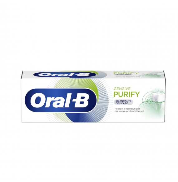 ORAL-B GENGIVE PURIFY SBIANCANTE DELICATO 75ML