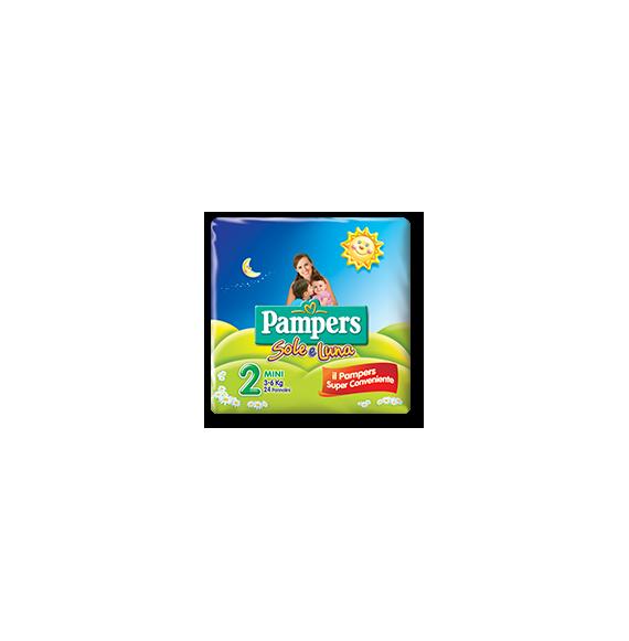 PAMPERS PANNOLINI SOLE&LUNA MINI 3-6 KG 21PZ