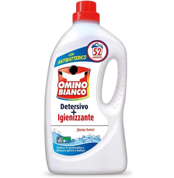 Omino Bianco Detersivo Igienizzante 52Lav 2600ml