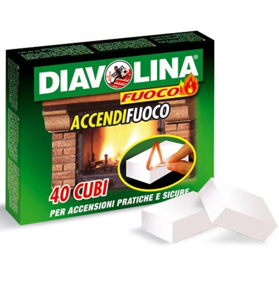 DIAVOLINA ACCENDIFUOCO 40 CUBETTI