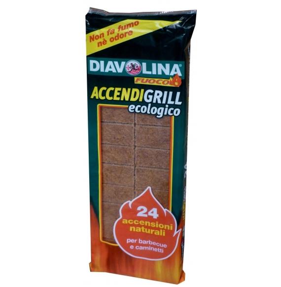 DIAVOLINA ACCENDIFUOCO ECOLOGICA X 24