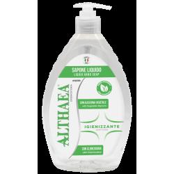 Althaea Sapone Liquido Igienizzante Con Glicerina Vegetale 650ml