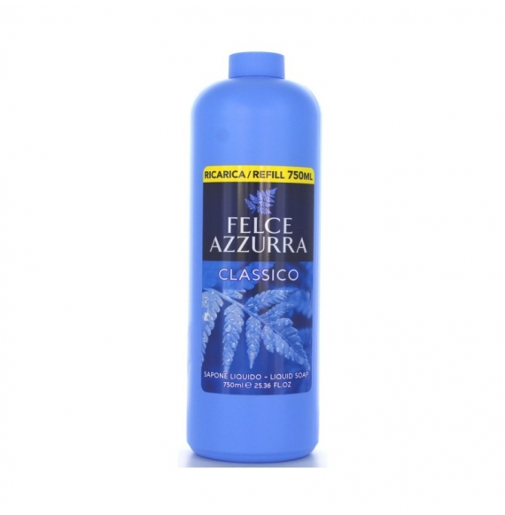 Felce Azzurra Sapone Liquido Ricarica Classico 750ml