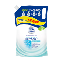 Fresh&Clean Detergente Mani Viso Ecoricarica Con Acqua Micellare 900ml