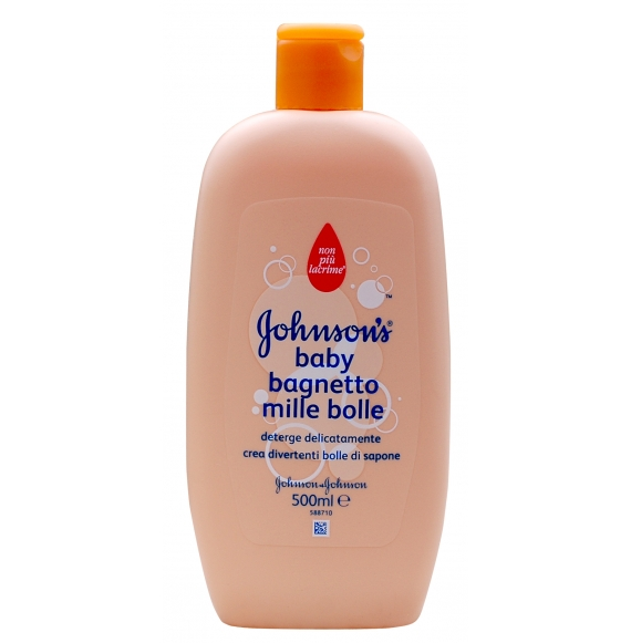 Johnson's Baby Bagnetto Mille Bolle 500 Ml