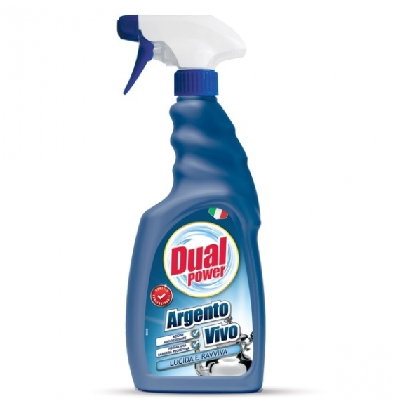 DUAL POWER ARGENTO VIVO SPRAY 500 ML