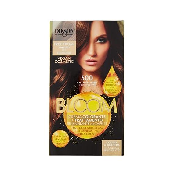 Dikson Bloom Crema Colorante Trattamento Rigenerante per Capelli 700 Biondo