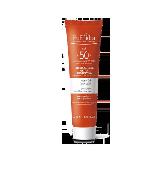 EuPhidra Crema Solare Ultraprotettiva 50+ 50ml