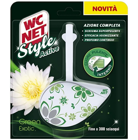 Wc Net Style Active Green Exotic